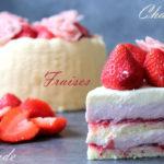 charlotte fraises et amande