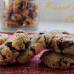 Photo de mise en avant des Cookies beurre de cacahuètes et pépites de chocolat noir
