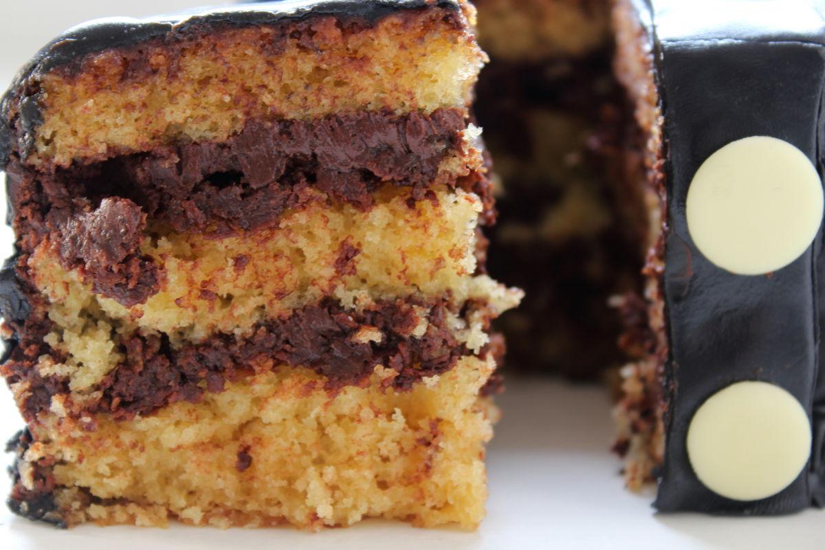 layer cake chocolat café