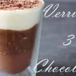 verrines 3 chocolats