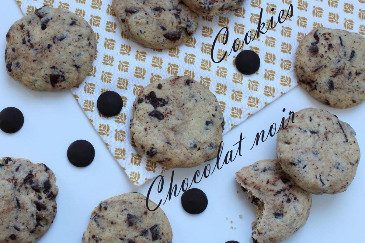 cookies chocolat noir
