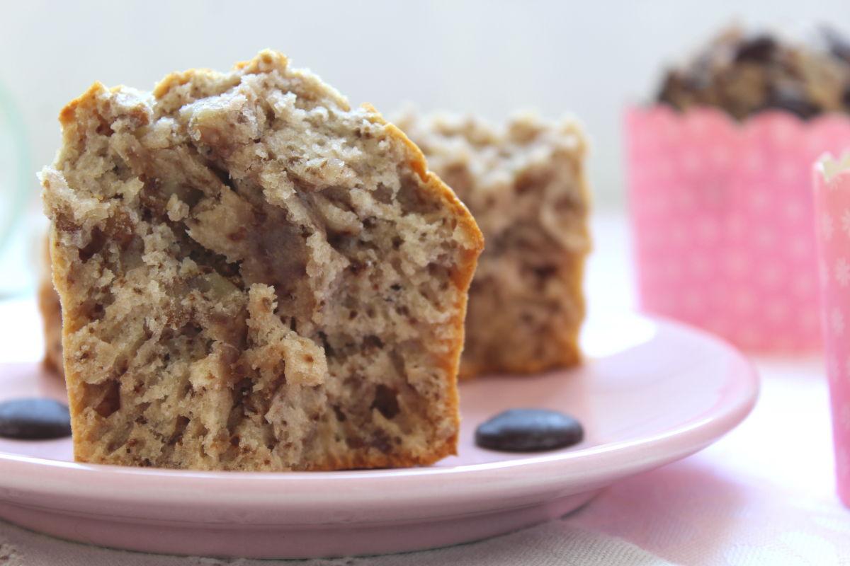 muffins au miel et aux noix