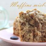 muffins miel et noix