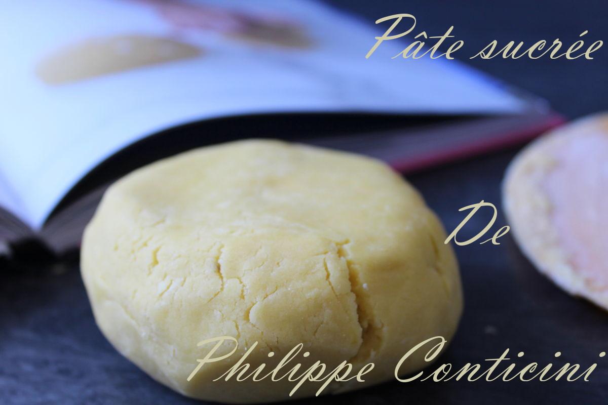 pâte sucrée de philippe conticini