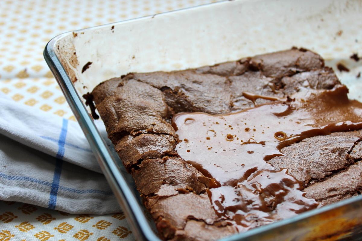 cake chocolat caramel au beurre sale
