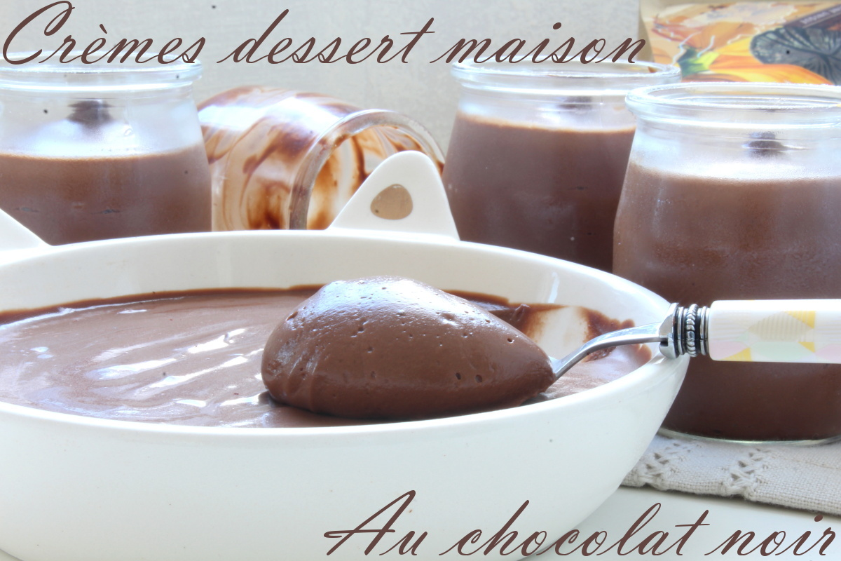 crèmes desserts chocolat