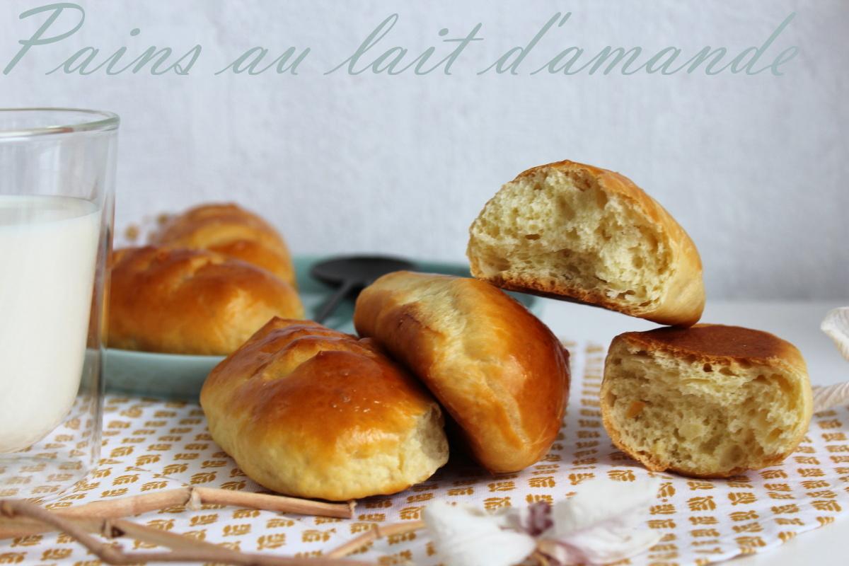 pain au lait d'amande maison pas à pas avec photos