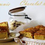 brownie chocolat blanc