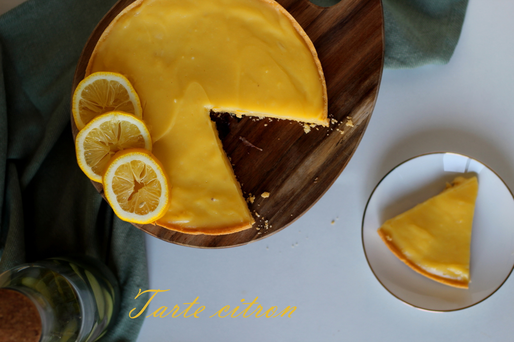 tarte au citron classique