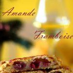 galette amande, framboise