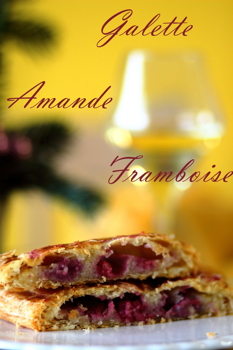 galette amande, framboise
