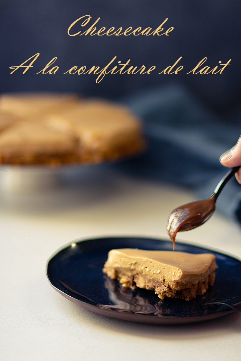 cheesecake confiture de lait