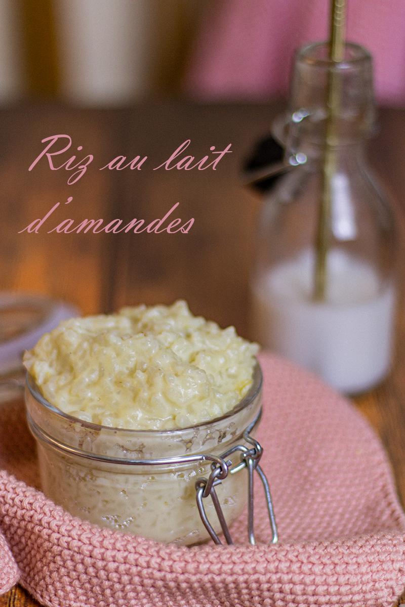 riz au lait d'amandes