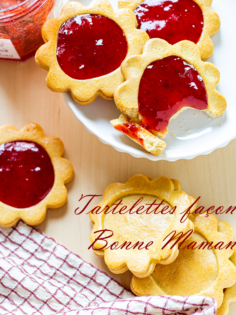 tartelettes à la confiture de notre enfance façon bonne maman