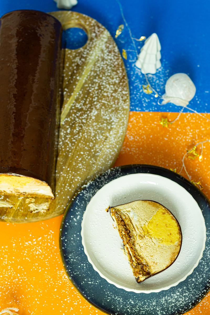 buche patissiere noisette clementine