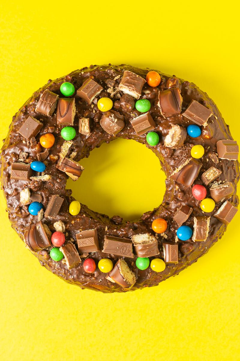 donut xxl chocolat kinders et compagnie