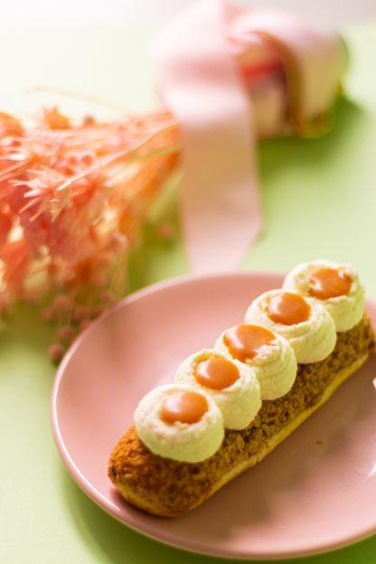 atelier pâtisserie pâte à choux eclair vanille caramel